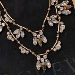jcrew double layer necklace